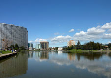 Lake Merritt, Oakland Royalty Free Stock Photo