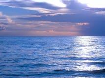 Lake Michigan накаляет Стоковое Изображение RF