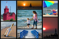 Lake Michigan Stock Images