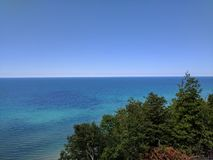 Lake Michigan along M-22 Royalty Free Stock Photos
