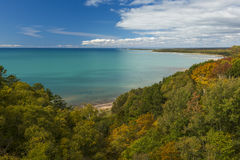Lake Michigan Autumn Royalty Free Stock Photos