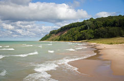 Lake Michigan Beach Royalty Free Stock Images
