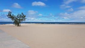 Lake Michigan. Beach in Holland, Michigan Stock Images
