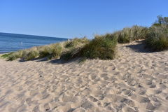 Lake Michigan Beach at Holland State Park. This photo was taken at Holland State Park Stock Photo