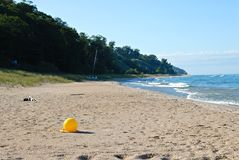 Lake Michigan Buoy Royalty Free Stock Images