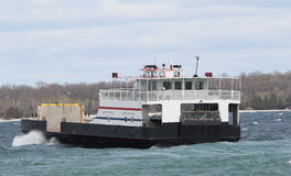 Lake Michigan Car Ferry Royalty Free Stock Photography