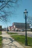 Lake Michigan historisk församling Arkivbild