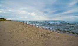 Lake Michigan horisont Royaltyfri Foto