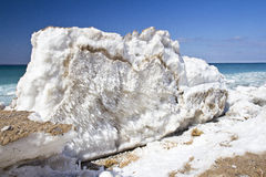 Lake Michigan Iceburg Royalty Free Stock Photography