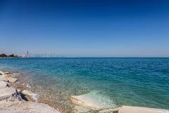 Lake Michigan Panorama Royalty Free Stock Image