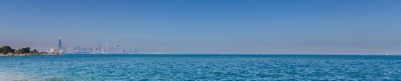 Lake Michigan Panorama Royalty Free Stock Images