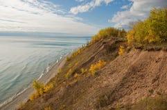 Lake Michigan Shore Royalty Free Stock Photos