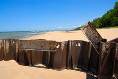 Lake Michigan Shoreline Royalty Free Stock Image