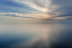 Lake Michigan and Sky Royalty Free Stock Photo