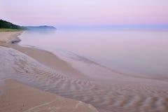 Lake Michigan at Sleeping Bear Dunes Royalty Free Stock Photo