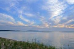Lake Michigan at Sleeping Bear Dunes Stock Photo