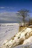 Lake Michigan in winter Stock Images