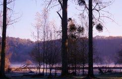 Lake Mielan Royalty Free Stock Image