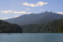 Lake Mills, Olympic National Park, Royalty Free Stock Images