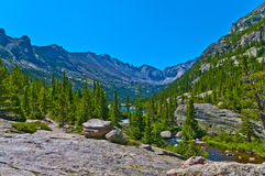 Lake Mills overlook royalty free stock images