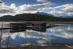 Lake Minnewanka, Banff, Alberta, Canada. Stock Image