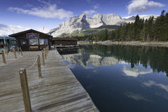 Lake Minnewanka, Banff, Alberta, Canada. Stock Photography
