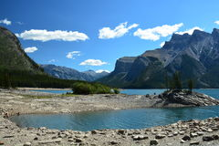 Lake Minnewanka,Banff National Park Royalty Free Stock Photography