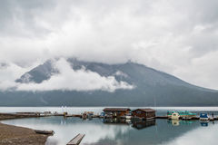 Lake Minnewanka by Banff Stock Images