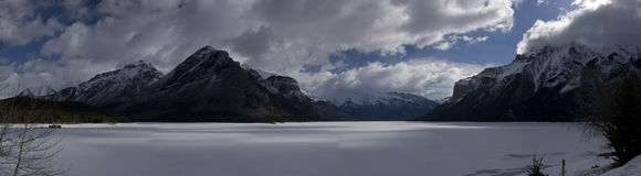 Lake Minnewanka Stock Images