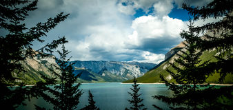 Lake Minnewanka Stock Photography