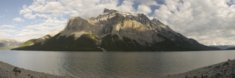 Lake Minnewanka Trail Royalty Free Stock Image