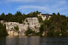 Lake Minnewaska State Park. Reserve Upstate NY during summer time Stock Images