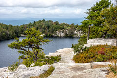 Lake Minnewaska View Royalty Free Stock Photo