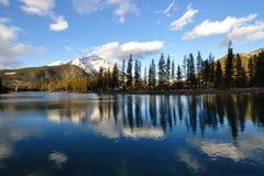 Lake mirror Stock Image