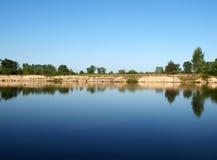 Lake mirror Stock Photo