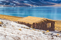 Lake Miscanti in Chile Stock Image
