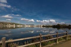 Lake Miseno Bacoli Stock Photography