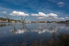 Lake Miseno Bacoli Royalty Free Stock Photos