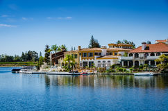 Lake Mission Viejo - Mission Viejo, California. Lake Mission Viejo is a reservoir created for recreation in Mission Viejo, Orange County, California. The Stock Photos