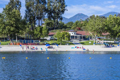 Lake mission viejo Stock Image