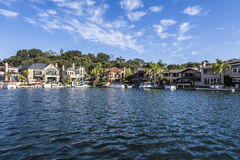 Lake mission viejo Royalty Free Stock Photos