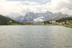 Lake Misurina Royalty Free Stock Photos
