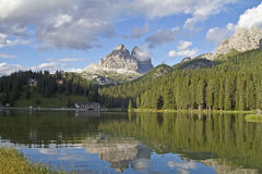 Lake Misurina Stock Photo