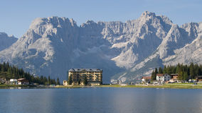 Lake Misurina Royalty Free Stock Photography