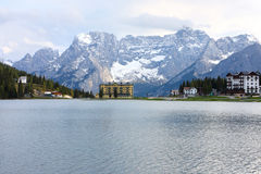 Lake Misurina Stock Photography
