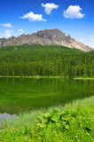 Lake Misurina Stock Image