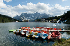 Lake Misurina Stock Photos