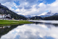 Lake Misurina, Italy Royalty Free Stock Images