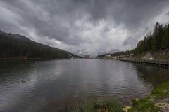 Lake Misurina Royalty Free Stock Photo