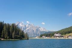 Lake Misurina, Italy Stock Photos